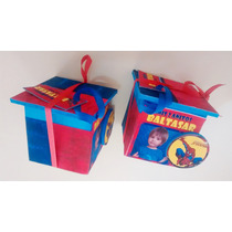 Cajitas Souvenirs Con Aplique, Spiderman , Batman , Superman