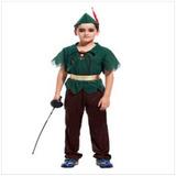Fantasia Infantil Masculina Peter Pan Importado Arrase Envio