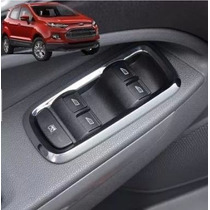 Ford Ka New Moldura Cromada Comando Vidro Acessórios Fiest