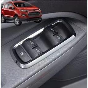 Ford Ecosport Moldura Cromada Comando Vidro Acessórios Fiest