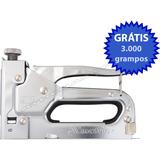 Grampeador P/ Tapeceiro Artesanato Estofado + 3 Mil Grampos