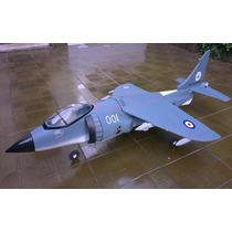 Aeromodelo Jato Elétrico Harrier - Novo - Montado