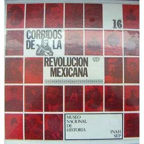 Bolero. Corridos De La Revolucion Mexicana, Lp 12´,