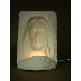 2 Lamparas Religiosas, Virgen Guadalupe, Rostro De Cristo