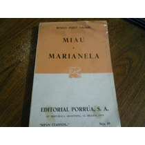 Libro Miau Marianela, Editorial Porrua De 1979