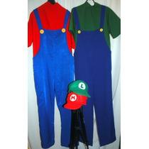 Fantasia Do Mario Bros Infantil Feito Sobe Medidas