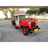 Willys Cj3b Cafetero Esc:1:43 Coleccion Jeep El Tiempo