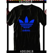 Franelas Adidas Talla Xs,s,m Y L. 100% Algodon