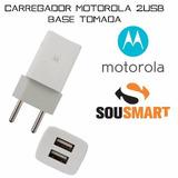 Fonte Base Motorola Razr D1 D2 D3 Hd Moto E Com 2 Saidas Usb