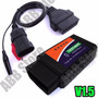 Scanner Automotivo Obd2 V1.5 Bluetooth + Cabo Fiat 3 Pinos