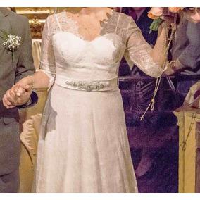 Vestido De Noiva Renda Francesa Chantilly