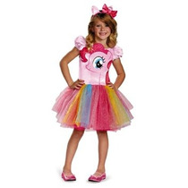 Disfraz Niño Disfraz De Hasbro Mi Lil Pony Pinkie Pie Tutú