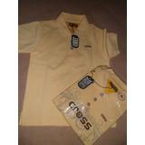 Chemises Amarillas, Pantalones Escolares Y Sueter
