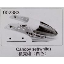 002383 - Canopy Helicóptero E-sky H.bee Cp3 Cor Bege //