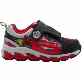 Zapatillas Cars Con Luces Marvel Usa
