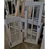 Rajas Con Vidrio Repartido Aluminio Color Blanco 1,20 X 0,80