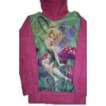 Buzo Violetta Princesas Tinkerbell Plush O Polar