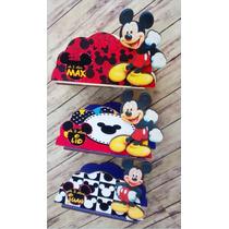 Servilleteros Souvenirs Mickey Mouse X3unidades