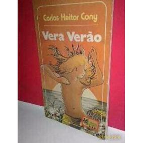 Livro Vera Verão Edijovem * Foto Real Carlos Heitor Cony