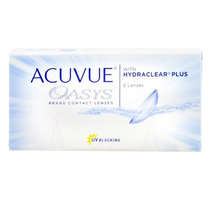 Lente Contato Acuvue Hydraclear Plus -5.50 - Oasys - 3 Pares