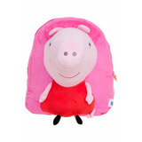 Mochila Escolar Infantil M Xeryus De Costas Peppa Pig Rosa