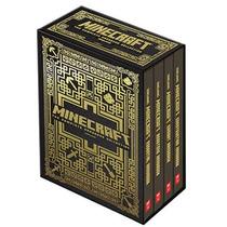 Colección Completa De 4 Libros De Minecraft