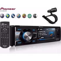 Dvd Player 1din Pioneer Dvh-8880avbt Usb Bluetooth Tela 3,5
