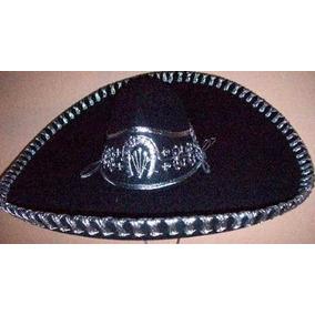 Sombrero Charro Negro-pl Mariachi Folklor Baile Regional Ddi
