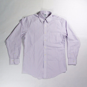 Brooks Brothers Camisa Rosa 15 Med-ch