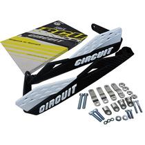Protetor De Mão Circuit Modelo Fenix Carbon Branco E Preto