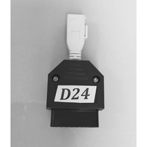 Rasther 3 - Conector D24 Audi Jetta 2 Pinos