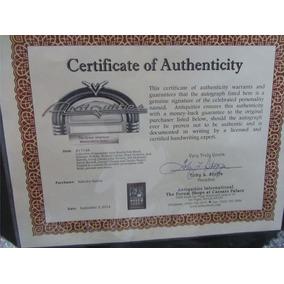 Quadro Do Rambo Com Certificado De Autenticidade