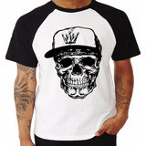 Camiseta Caveira - Camisa Estampada Frete Gratis