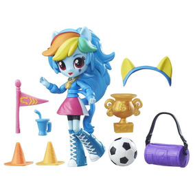 My Little Pony - Boneca Mini Equestria Girls - Rainbow Dash