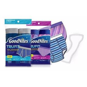 Trufit Goodnites Pañales Para Noche Ninos Grandes