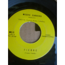 Meche Carreño Fiebre (peggy Lee) Tomando Te Promo 7 45 70s