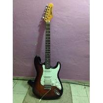 Guitarra Eléctrica Palmer Deluxe Con Amplificador Seminueva