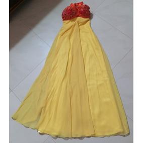 Vestido De Fiesta Diseñador Ernesto Capra