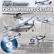 Flight Simulator Pack Aviones Cesnna Hd Super Realista