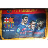 Cartuchera Desplegable Barcelona Messi Neymar Suarez