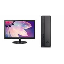 Computadora Completa Hp 280 Mouse Teclado Monitor 19 Promo