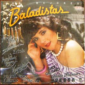 Veronica Castro Y Otros, Los Mejores Baladistas, Lp 12´,