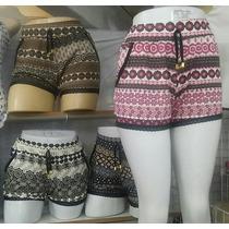 Kit Com 5 Shorts Curto Em Malha Com 2 Bolso