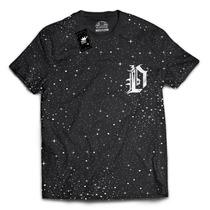 Camiseta Estampada Galaxia Espaco Estrelas 3d Original Swag