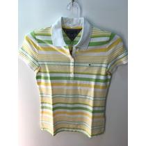 Camisa Gola Polo Tommy Hilfiger Th Feminina Pp Xs Xsmall
