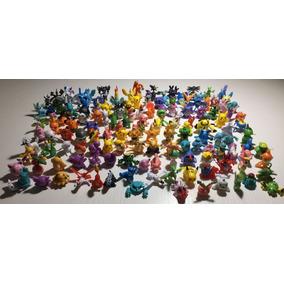 144 Brinquedos Em Miniatura Do Pokémon + Brinde