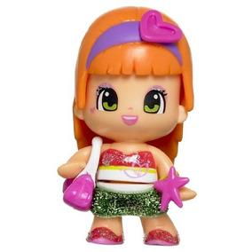 Famosa Pin Y Pon Pinypon Doll - El Cabello De Color Naranja