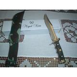 Cuchillo De Caza Nieto Made In Spain - Hoja 18 Cm