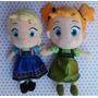 Bonecas Frozen Pelúcia Princesa Ana E Rainha Elsa Baby