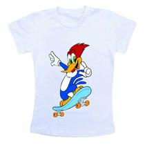 Camiseta Infantil Personalizado Pica Pau Ref252